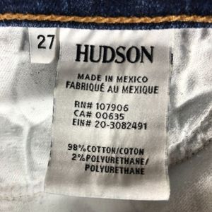 Hudson Jeans Jeans - Hudson Tall Crop Skinny Jeans 27